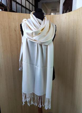 Палантин / шарф тонкая шерсть /пашмина /  хиджаб