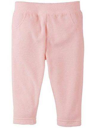 Велюровые штанишки на девочку.lupilu/германия.74-80