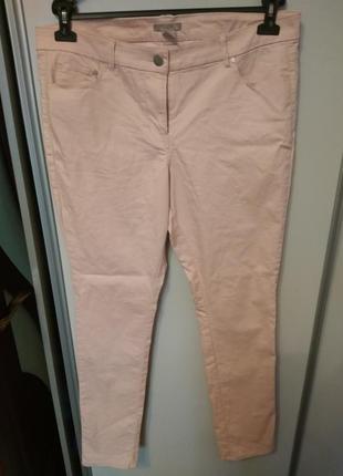 Джинсы, брюки, скинни, размер 52