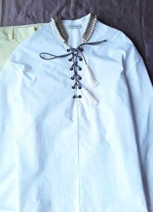 Дизайнерская крутая  блузка от etro.2 фото