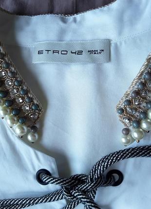 Дизайнерская крутая  блузка от etro.5 фото