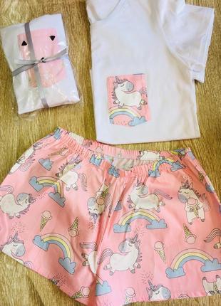 Пижама единороги2 фото