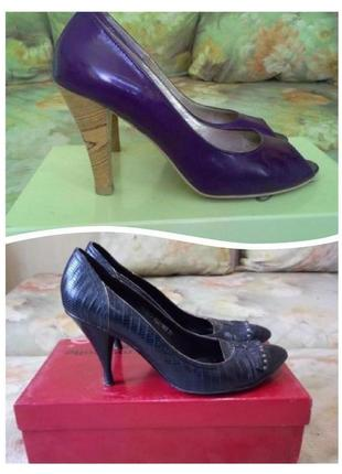 Туфли egle + туфли лоферы mascotte