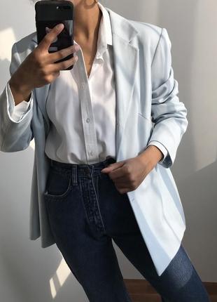 Пиджак светло голубой george