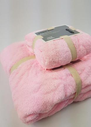 Комплект полотенец микрофибра