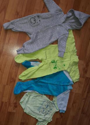 Набор одежды на мальчика от 0 до 5 мес