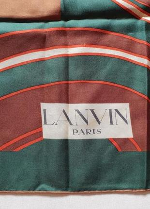 Платок шелковый lanvin hermes