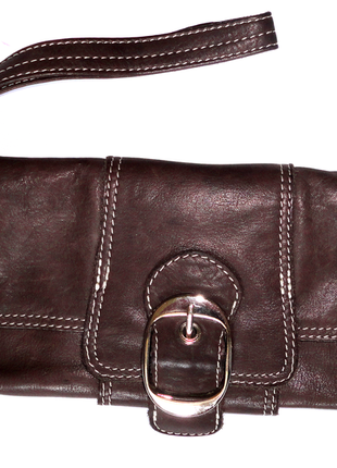 Кожаный клатч кожаный кошелек англия