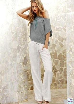 Льняные женские брюки штаны esmara германия