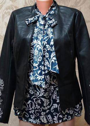 Куртка экокожа orsay