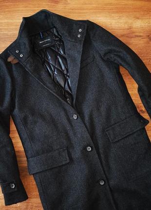 Шикарное женское шерстяное пальто marc o polo, made in italy