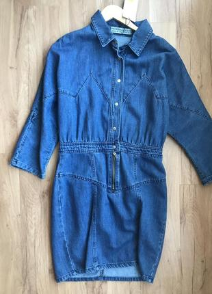 Нове джинсове плаття))🔥🔥🔥🔥3 фото