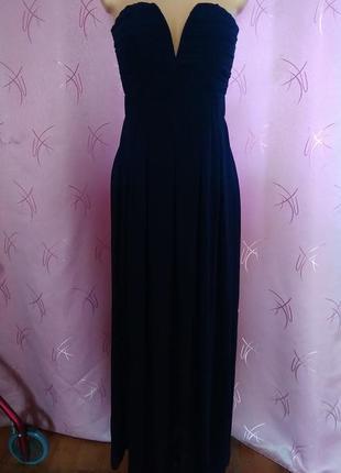 Шифоновое платье-бандо