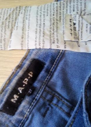 Укороченные джинсы mapp jeans4 фото