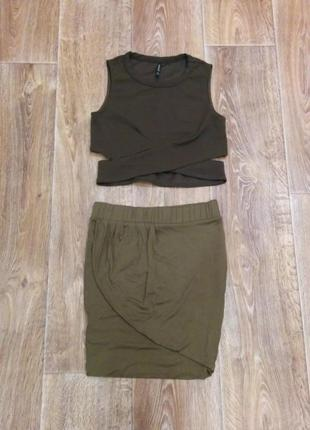 Комплект. юбка и топ