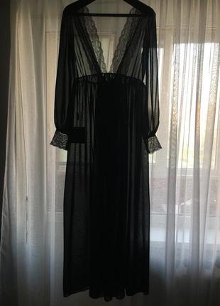 Роскошное будуарное платье + чулки и перчатки (срочное)