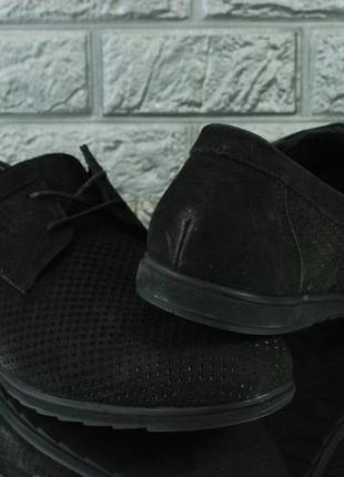 Распродажа. мужские замшевые туфли на лето4 фото