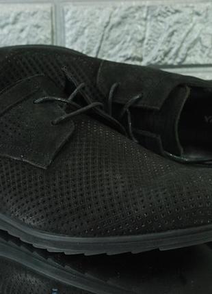 Распродажа. мужские замшевые туфли на лето5 фото