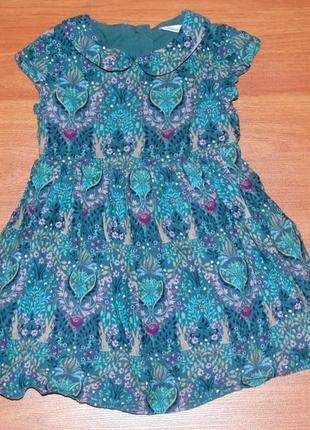 Разноцветное платье next,некст,12-18 мес.,86,1-1,5 года