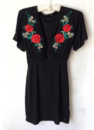 Шикарное мини платье , туника,boohoo, xxs-s
