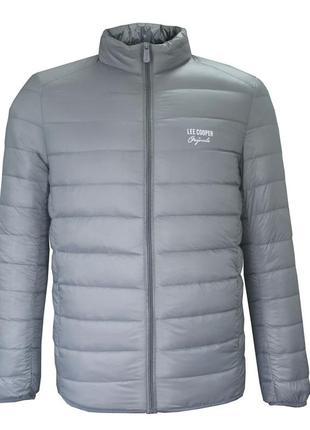 Lee cooper мужская куртка/мужской пуховик/демисезонная куртка