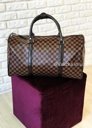 Супер цена! дорожная сумка из эко кожи ручная кладь дорожня сумка ручна поклажка