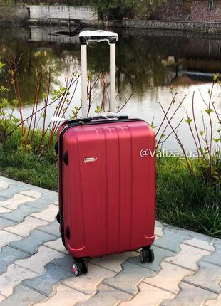 Франция! чемодан пластиковый из поликарбоната малый ручная кладь валіза пластикова3 фото