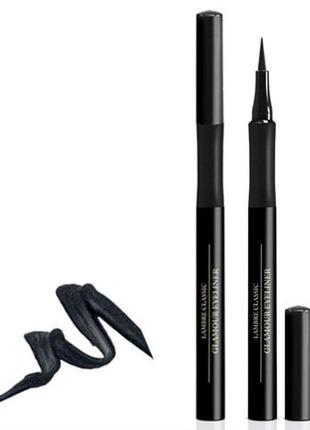 Жидкая перманентная подводка для глаз «permanent eyeliner pen» lambre