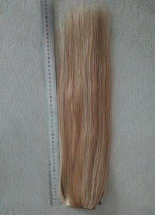 Волосы натуральные трессы