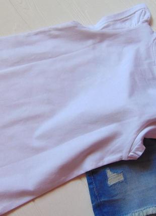 H&m. размер 2-3 года. новый летний комплект для девочки: футболка + джинсовые шорты10 фото
