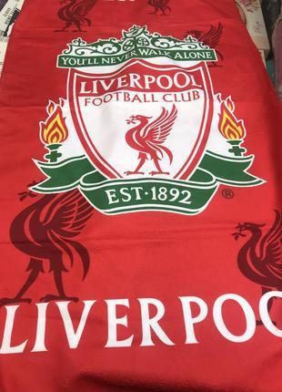 Пляжное полотенце с футбольным клубом ливерпуль