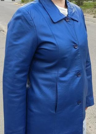 Отличная кожанка centigrade курточка кожа 50-52