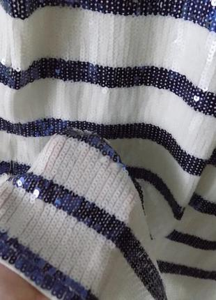 Мега-стильное платье в паетках5 фото