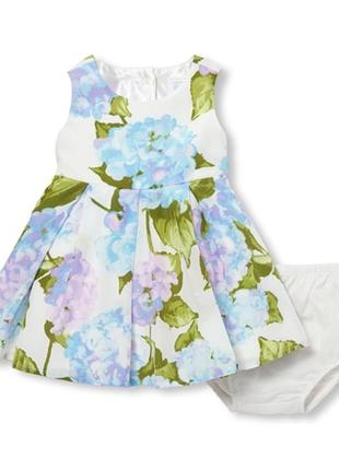 Нарядное праздничное платье для девочки. платье на годик