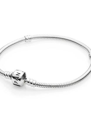 Пандора браслет серебро, оригинал, 925 проба, на худую леди или девочку/подростка