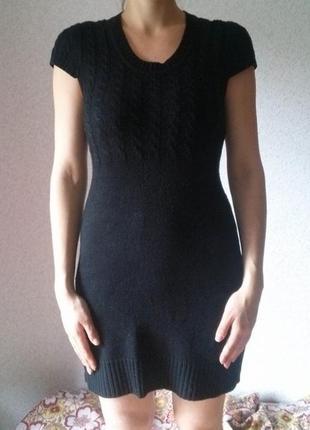 Удобное и практичное платье чёрного цвета бренда incity р. м
