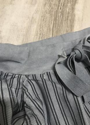 Стильные голубые котоновые штанишки .италия7 фото