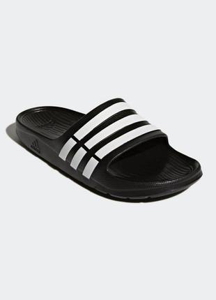 Adidas duramo slide g15890 тапочки шлёпанцы сланцы