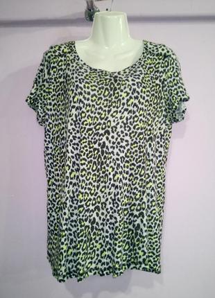 Льняная футболка блуза 100% лен next uk 16 / 44 / xl