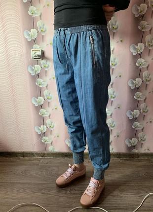 Новые классные джоггеры под джинс ovs италия / брюки mom