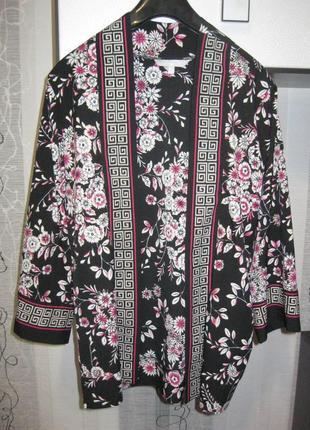 Лёгкий летний кардиган шёлковый в бельевом стиле кимоно гейши л