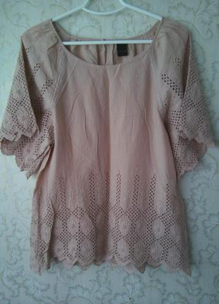 Котонова блуза vila clothes