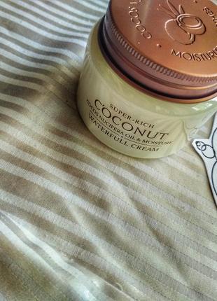 Культовый крем для увлажнения кожи с экстрактом кокоса3 фото