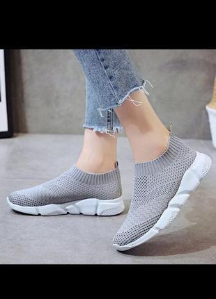 Летние лёгкие кроссовки для женщин
