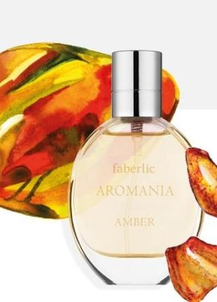 Туалетная вода для женщин aromania amber (faberlic) 30 мл