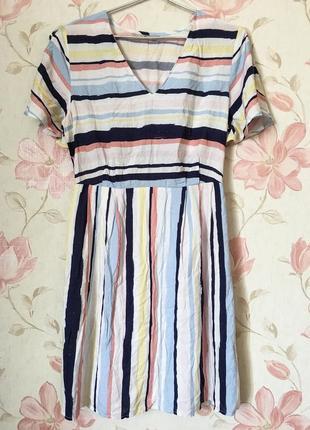Коттоновое платье на весну/лето