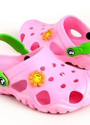 ! детские кроксы/сабо     бренд: jose amorales   р.32-33,34-35