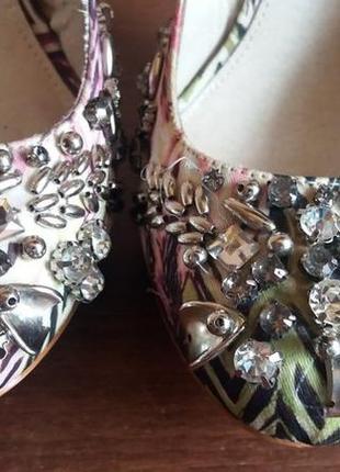 Весенние вечерние классические туфли на высоком каблуке