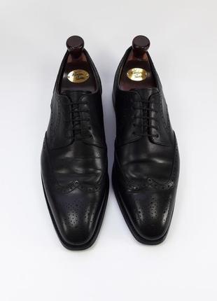 Gordon&bros germany кожаные туфли броги оксфорды черного цвета размер 42