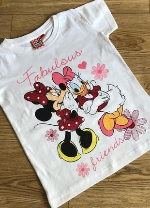 Классная стильная футболка от дисней minnie mouse